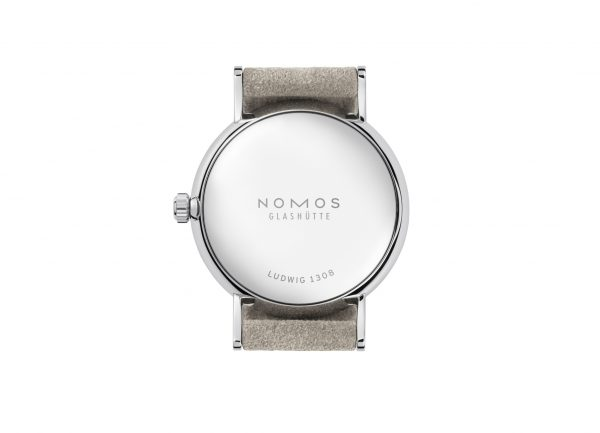 Nomos Ludwig 33 Champagne (ref 247) - back view