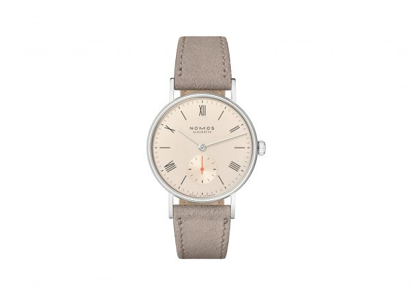 Nomos Ludwig 33 Champagne (ref 247/48) - showing strap