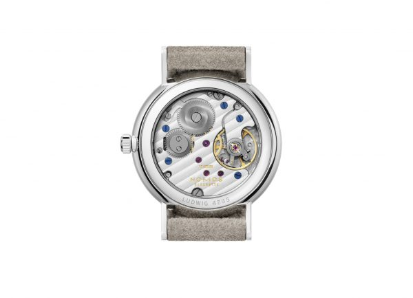 Nomos Ludwig 33 Champagne (ref 248) - back view