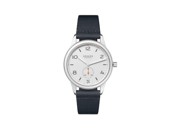 Nomos Club Automatic Date (ref 775) - showing strap