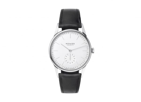 Nomos Orion White (ref 306) - showing strap