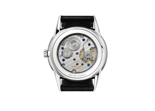 Nomos Orion White (ref 306) - back view