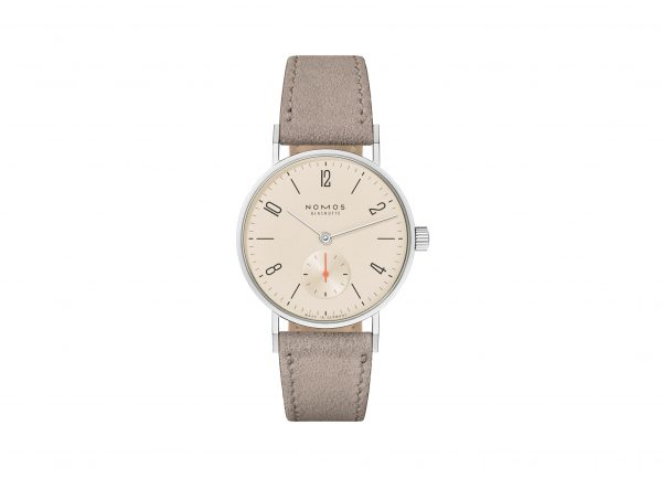 Nomos Tangente 33 Champagne (Ref 150/151) - showing strap