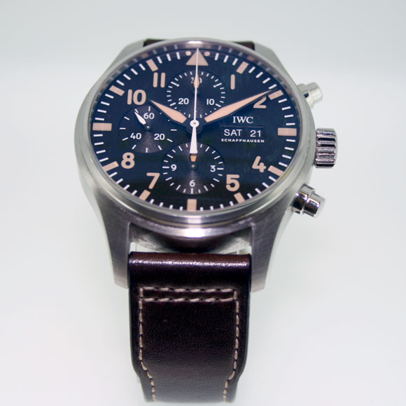 IWC Limited Edition (SN-1412) - Celebrating the 20th Anniversary of Watches of Switzerland