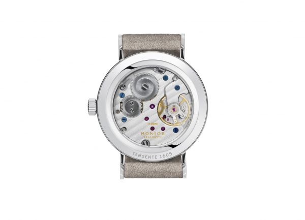 Nomos Tangente 33 Champagne (Ref 151) - rear view