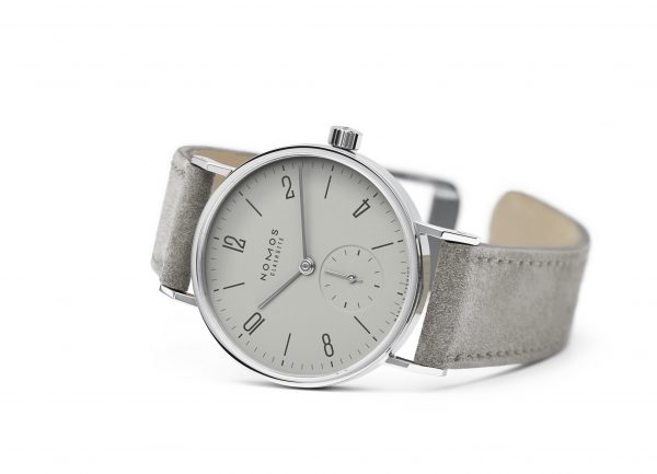 Nomos Tangente 33 Gray (ref 125) - on its side