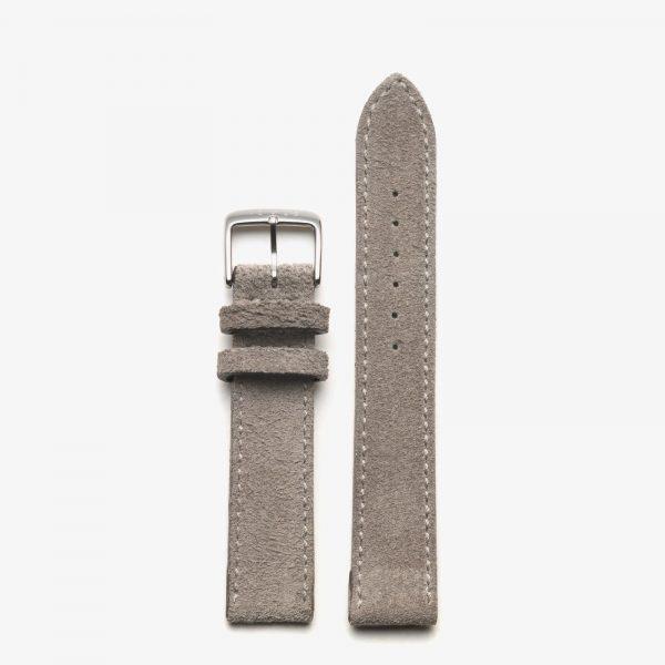 Nomos Strap - Velour Leather Beige