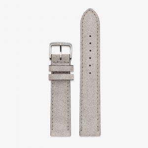 Nomos Velour Leather Strap - Gray